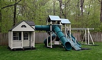 Amish Built Swing Sets