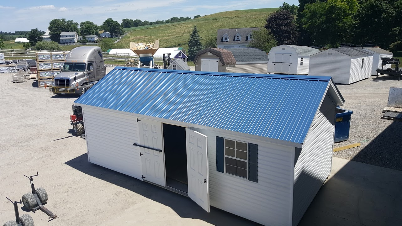 up mountain metal with pilot dr factory sale steel door for shop hamlin sheds garage carport roll more rv direct boat storage