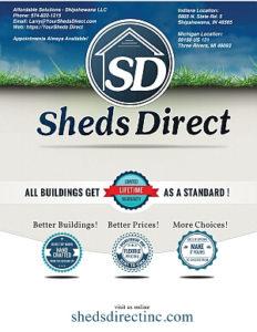 2017 Sheds Direct Catalog