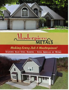2017 Masterpiece Metals Brochure Cover